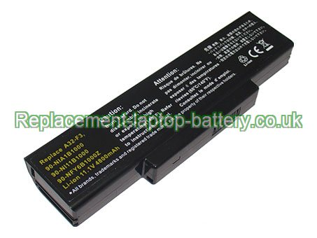 Replacement Laptop Battery for  4400mAh Long life ADVENT 7093,