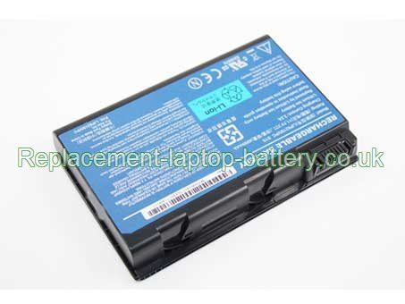 ACER LIP6219IVPC SY6, Travelmate 6410, Travelmate 6460, Extensa 5000 Series Battery 4000mAh