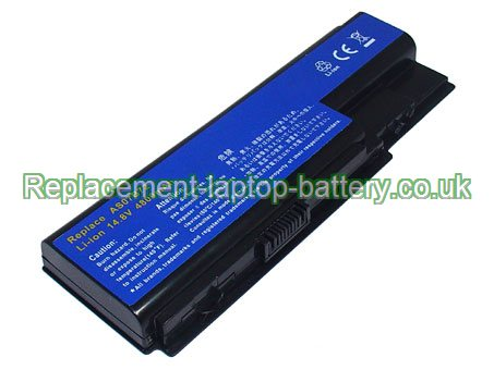 14.8V ACER AS07B42 Battery 4400mAh