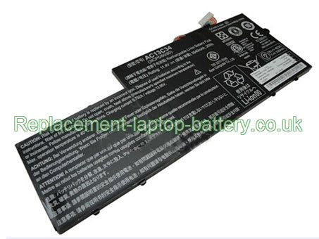 Acer AC13C34 Aspire V5-122P V5-132 Aspire E3-111 Replacement Laptop Battery
