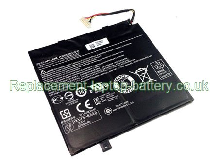 AP14A8M Battery, Acer AP14A8M Aspire Switch 10 SW5-011 SW5-012 Tablet Battery Replacement