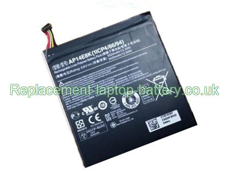 AP14E8K Battery, Acer AP14E8K Iconia One 7 B1-750 Tablet PC Battery Replacement