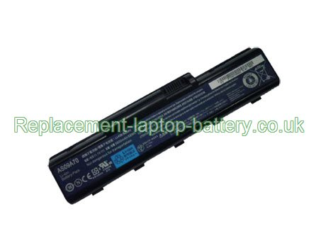 Replacement Laptop Battery for  4400mAh Long life GATEWAY AS09A75, AS09A71, AS09A73, AS09A70,