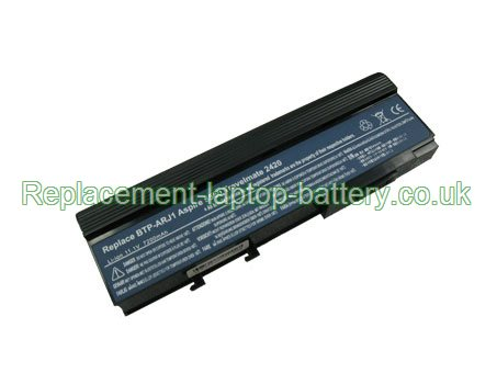 ACER BTP-AQJ1, BTP-ARJ1, BTP-ANJ1, Travelmate 2420 3240 3250 3280, Aspire 3620, Aspire 5540 5590 Series Battery 6600mAh 9-Cell