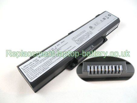 11.1V AVERATEC 2200  8092 SCUD Battery 4400mAh