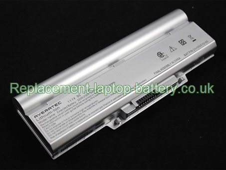 11.1V AVERATEC 23+050410+00 Battery 7200mAh