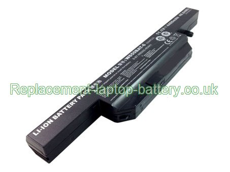 11.1V CLEVO N650BAT-6 Battery 4400mAh