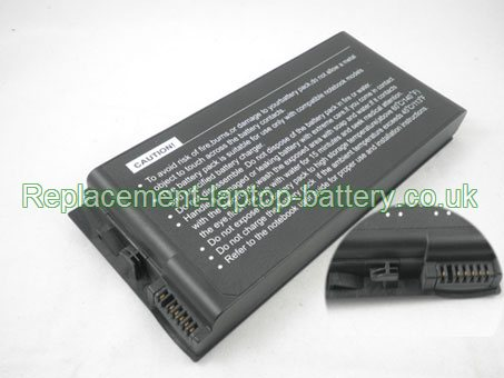 Replacement Laptop Battery for  4400mAh Long life ADVENT 7094, J1 Notebook Series, 7095, 7086,