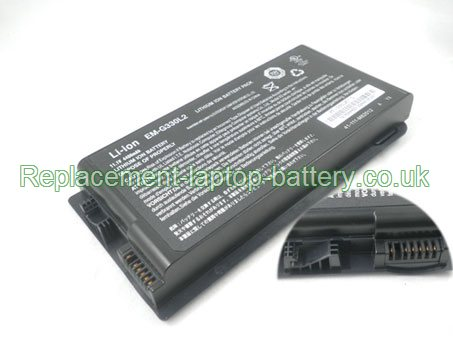 Replacement Laptop Battery for  4400mAh Long life ADVENT 7088, 7108, 7082, 7105,