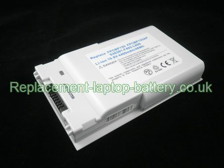 Replacement Laptop Battery for  4400mAh Long life FUJITSU-SIEMENS LifeBook T4215, LifeBook T4220 Tablet PC, LifeBook T4210,
