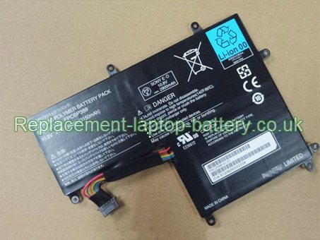 Fujitsu FPCBP389 FPB0286 Replacement Laptop Battery 10.8V