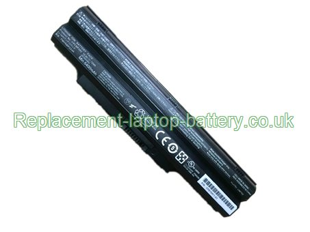 FPCBP392 Battery, Fujitsu FPCBP392 FMVNBP224R CP615411-01 LifeBook SH782 Replacement Laptop Battery