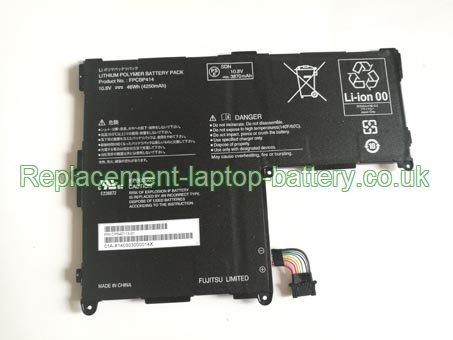 FPCBP414 Battery, Fujitsu FPCBP414 CP642113-01 Stylistic Q704 Convertible Replacment Laptop Battery
