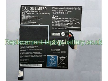 FPCBP506 Battery, Fujitsu FPCBP506 FPB0328 FMVNBT41 Replacement Laptop Battery