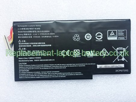11.4V GETAC B010-00-000004 Battery 5720mAh