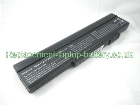 14.8V GATEWAY SQU-414 Battery 6600mAh