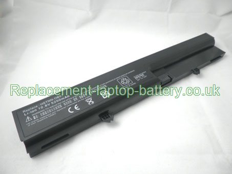Replacement Laptop Battery for  4400mAh Long life HP COMPAQ Business Notebook 6520S, Business Notebook 6820, 500014-001, HSTNN-OB51,