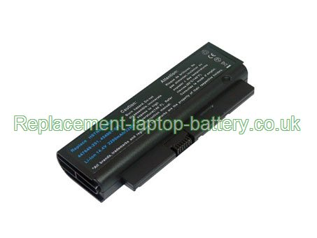 HP Compaq 447649-321, HSTNN-OB53, Business Notebook 2210b Presario B1200 Series Replacement Laptop Battery 4-Cell