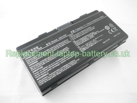 Replacement Laptop Battery for  4400mAh Long life LG R450 Series, X-Note R450 Series,