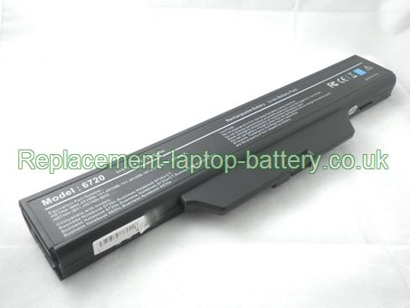 Replacement Laptop Battery for  4400mAh Long life HP COMPAQ Business Notebook 6830s, Business Notebook 6730s/CT, Business Notebook 6735s, Business Notebook 6730s,