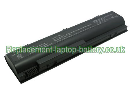 Replacement Laptop Battery for  4400mAh Long life HP COMPAQ Business Notebook NX7100, Business Notebook NX4800, Business Notebook NX7200,
