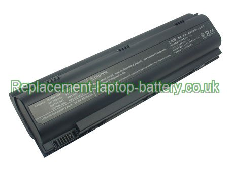 Replacement Laptop Battery for  8800mAh Long life HP COMPAQ Business Notebook NX7100, Business Notebook NX4800, Business Notebook NX7200,
