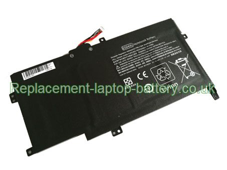 14.8V HP HSTNN-IB3T Battery 4000mAh