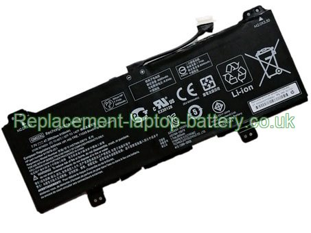 7.7V HP HSTNN-DB7X Battery 6150mAh