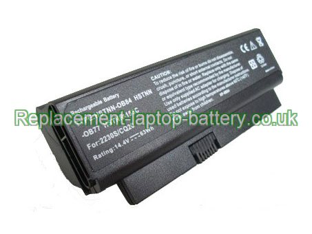 Replacement Laptop Battery for  63WH Long life HP COMPAQ Business Notebook 2230s, Business Notebook 2230, Business Notebook 2230B,