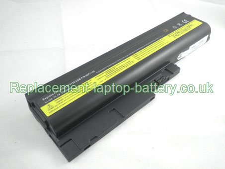 IBM 40Y6799, ASM 92P1138, FRU 42T4513, FRU 42T5233, ThinkPad R60 R60e R61 T60 T60p T61 Series Replacement Laptop Battery