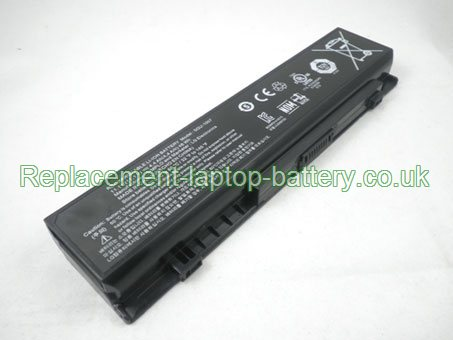 SQU-1007 Battery, LG SQU-1007, Xnote S430 P420 Series Battery 11.1V 4400mAh 6-Cell