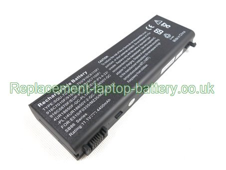 Replacement Laptop Battery for  4400mAh Long life ADVENT 9915w,