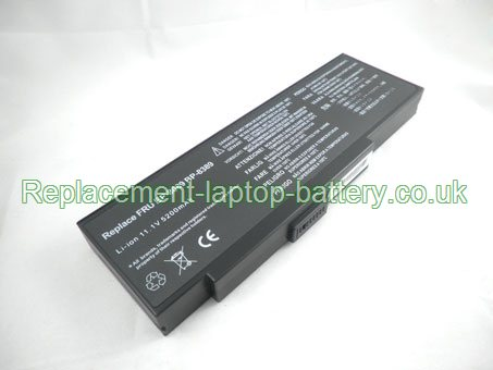 Replacement Laptop Battery for  4400mAh Long life ADVENT 8089,