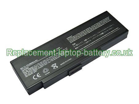 Replacement Laptop Battery for  6600mAh Long life ADVENT 8089,