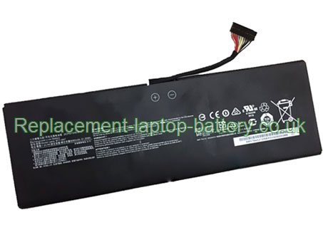 BTY-M47 Battery, MSI BTY-M47 GE42 GS43VR GS43 Series GS40 Series Replacement Laptop Battery