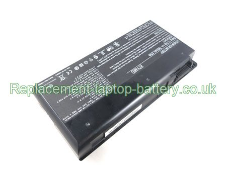 Replacement Laptop Battery for  7800mAh Long life MEDION Erazer X6811 Series, Erazer X6813 Series,