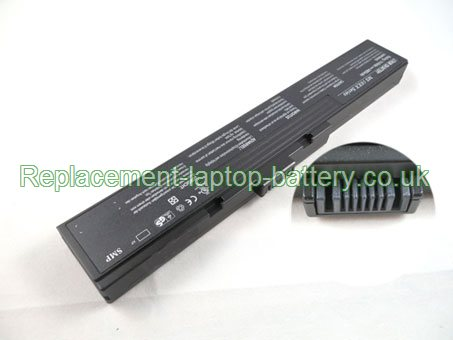Replacement Laptop Battery for  4400mAh Long life AVERATEC 6200, 6235, 6210, 6240,