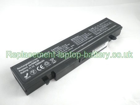 Samsung AA-PB9NS6B, AA-PB9NC6B,R460 R467 R468 R522, Q308 Q210 Q310 Q322 Series Replacement Laptop Battery 6-Cell