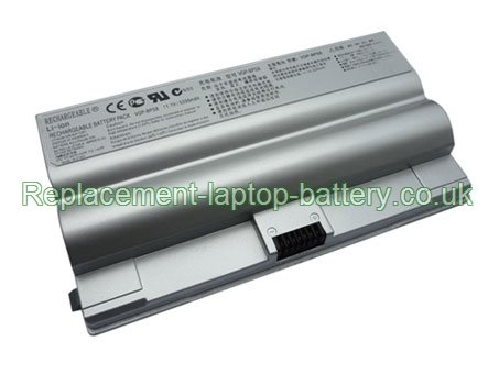 Sony VGP-BPS8 VGP-BPS8A VGN-FZ50B VGN-FZ70B VGN-FZ90S FZ series Replacement Laptop Battery