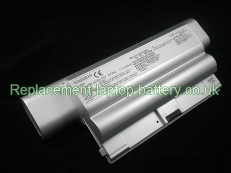 12-Cell Sony VGP-BPS8, VGP-BPL8 Replacement Laptop Battery