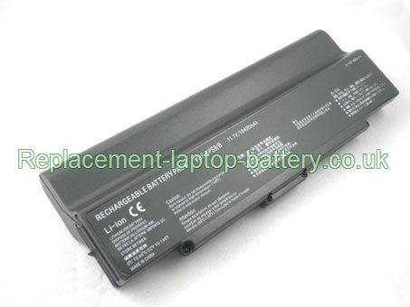 11.1V SONY VGP-BPS9A/B Battery 10400mAh