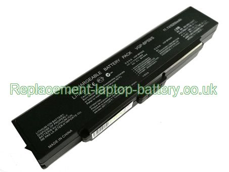 11.1V SONY VGP-BPS9A/B Battery 5200mAh