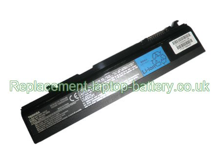 Toshiba PA3356U-3BRS, PA3356U-1BRS, PABAS071, Satellite A50 A55 U200 U205 Portege M300 S100 Tecra A2 M2 M3 M5 M6 Series Replacement Laptop Battery