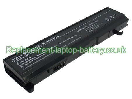10.8V TOSHIBA PABAS076 Battery 4400mAh