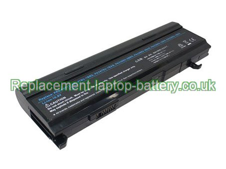 10.8V TOSHIBA PABAS076 Battery 6600mAh