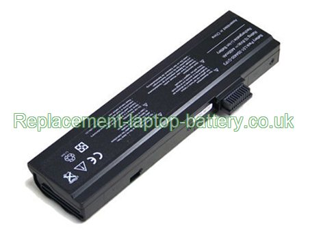 Replacement Laptop Battery for  4000mAh Long life ADVENT L51-3S4400-C1S5, 7208, 8115, 7109A,