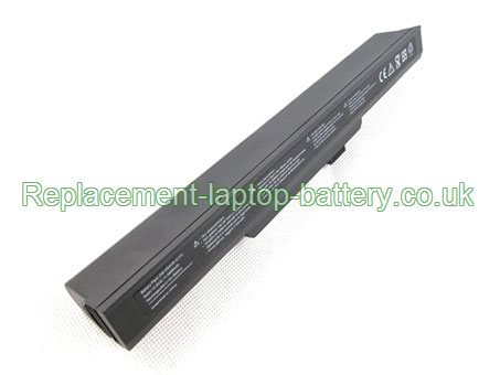 Replacement Laptop Battery for  4400mAh Long life ADVENT 9212, 4401, 8112, 9112,
