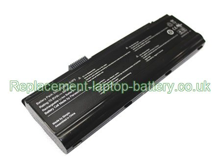 Replacement Laptop Battery for  6600mAh Long life FUJITSU-SIEMENS S50-3S4400-G1L2, S50-3S6600-S1P3,