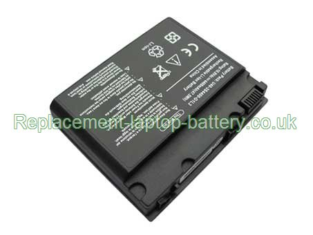 Replacement Laptop Battery for  4400mAh Long life FUJITSU-SIEMENS U40-3S4400-B1N1, U40-3S4400-C1M1, U40-3S3700-B1Y1, U40-3S4000-S1S1,