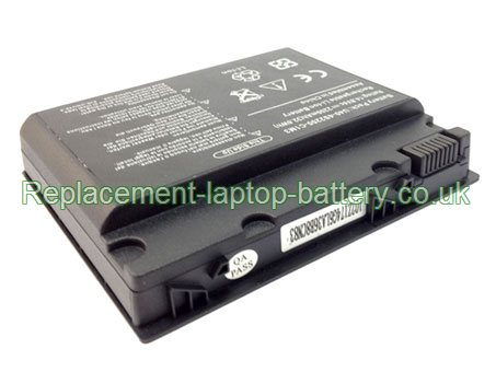 Replacement Laptop Battery for  2200mAh Long life ADVENT 5302, 5312, 6650, 5301,